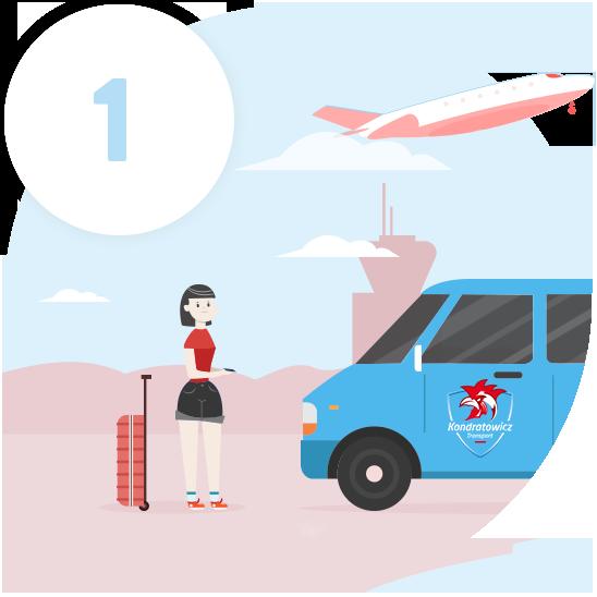 transport na lotnisko warszawa chopin, modlin, gdańsk, szymany