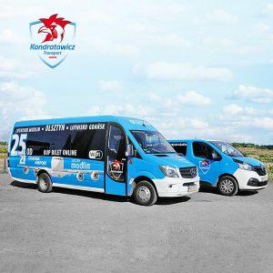 Bus na lotnisko im. Lecha Wałęsy w Gdańsku - trasa Olsztyn - Gdańsk